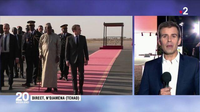 Tchad : Emmanuel Macron réveillonne avec les militaires de l'opération Barkhane