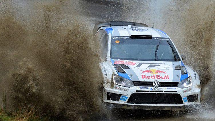 Sébastien Ogier (VW Polo-R) (BEN STANSALL / AFP)