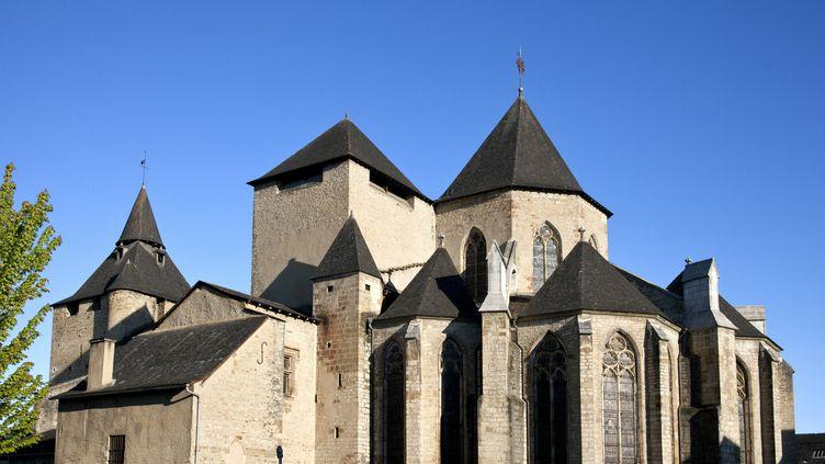 La cathédrale d'Oloron-Sainte-Marie, dans les Pyrénées-Atlantiques. (PHILIPPE ROY / PHILIPPE ROY)