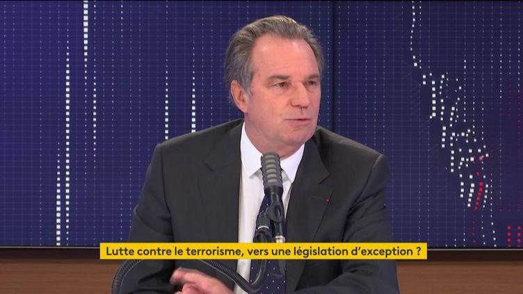 Renaud Muselier, président de la région Provence-Alpes-Côte d'Azur, en octobre 2020. (FRANCEINFO / RADIOFRANCE)