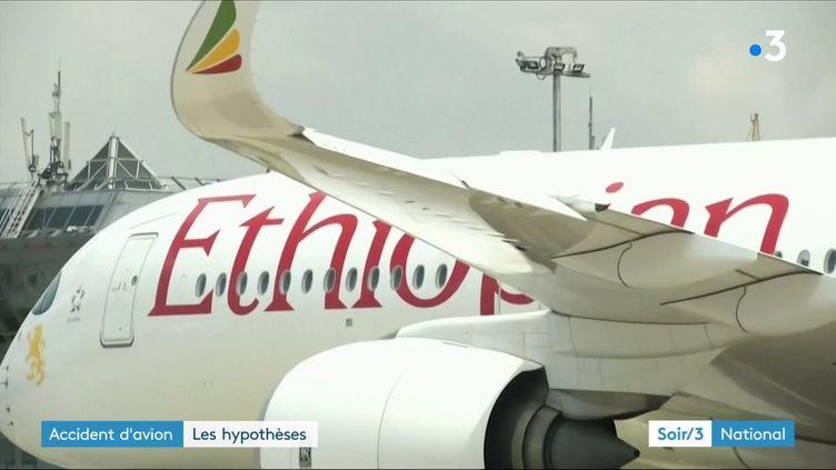 Un avion de la compagnie Ethiopian Airlines (France 3)
