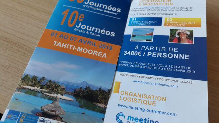 En 2019, les Journées d'orthopédie outre-mer, rendez-vous incontournable pour de nombreux chirurgiens de métropole, se dérouleront à Tahiti. (ÉLODIE GUÉGUEN / RADIO FRANCE)