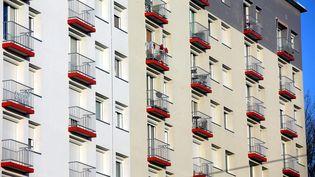Des appartements à Montbéliard dans ledépartement du Doubs (photo d'illustration). (LIONEL VADAM  / MAXPPP)
