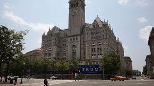 L'ancienne poste de Washington, auxEtats-Unis,accueille, à partir du 12 septembre 2016,l'un des hôtels de Donald Trump. (MARK WILSON / GETTY IMAGES NORTH AMERICA / AFP)
