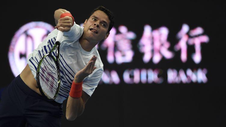 Milos Raonic  (FRED DUFOUR / AFP)