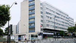 L'hôpital de la Pitié-Salpêtrière, à Paris, le 31 juillet 2014. (IMAGE POINT FR / BSIP / AFP)
