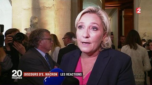 Congrès de Versailles : les réactions des parlementaires