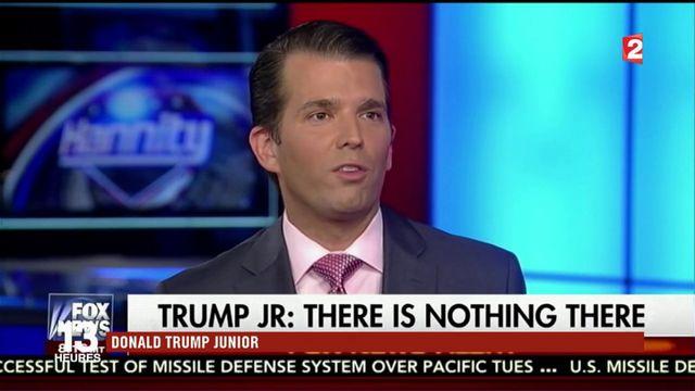 Donald Trump : son fils rattrappé par le scandale