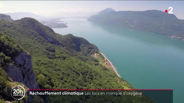 Réchauffement climatique : les lacs en manque d'oxygène