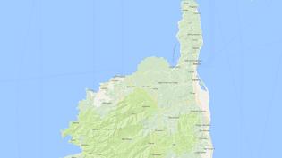 Carte de localisation de la commune deFeliceto, en Haute-Corse. (GOOGLEMAPS)