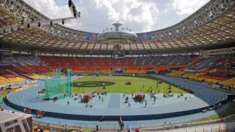 Le stade Loujniki va être réaménagé et perdre sa piste d'athlétisme (MICHAEL KAPPELER / DPA)
