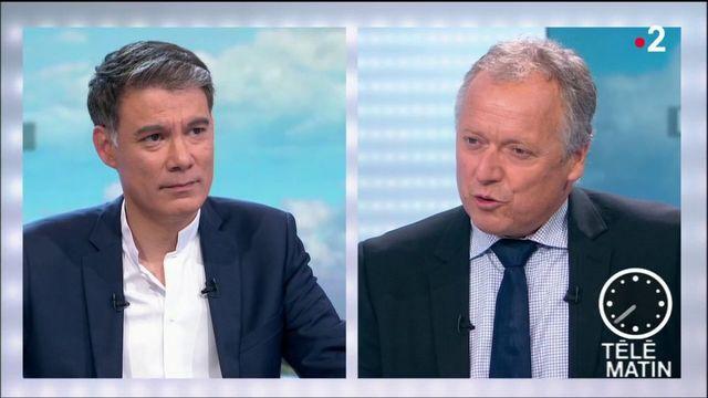 """Incidents du 14-Juillet : """"La fête nationale ne devrait pas être désacralisée"""", affirme Olivier Faure (PS)"""