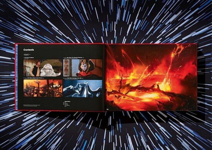 "Double page extraitedes ""Archives Star Wars II"" de Paul Duncan. (EDITIONS TASCHEN)"