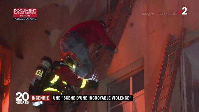 Incendie meurtrier à Paris : le récit d'une nuit d'horreur