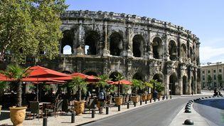 Les arènes de Nîmes (Gard) accueillent chaque année 400 000 visiteurs. (JACQUES BOUSSAROQUE / AFP)