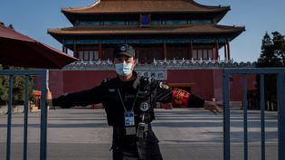 L'ambassade de Chine à Paris défend la politique menée par le régime chinois dans la lutte contre le Covid-19. (photo d'illustration) (NICOLAS ASFOURI / AFP)