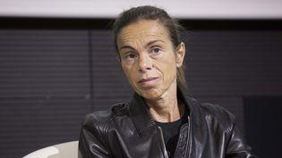 Agnès Saal, alors présidente de l'INA, à Paris, le 21 octobre 2014. ( MAXPPP)