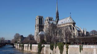 La cathédrale de Notre-Dame, à Paris, le 8 février 2008. (MANUEL COHEN / AFP)