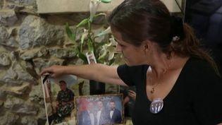 Un an après l'explosion à Beyrouth, le chagrin est toujours aussi intense pour les familles des victimes. (CAPTURE ECRAN FRANCE 2)
