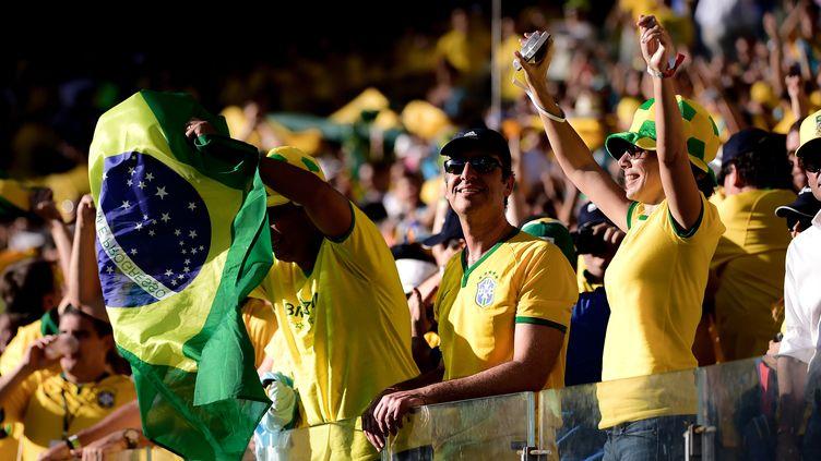 Les supporters brésiliens ont enflammé le stade... et le web (GUSTAVO BASSO / NURPHOTO)