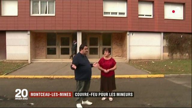Montceau-les-Mines : couvre-feu pour les mineurs.