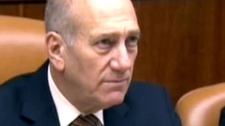 L'ancien Premier ministre israélien Ehud Olmert (11 janvier 2009) (© F2)