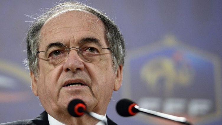 Le président de la Fédération française de football Noël Le Graët (FRANCK FIFE / AFP)