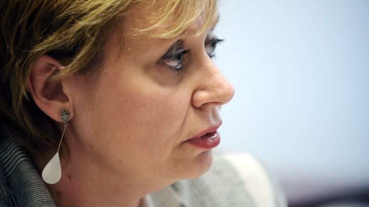 La juge Isabelle Prévost-Desprez, à Nanterre (Hauts-de-Seine), le 2 septembre 2010. (FRED DUFOUR / AFP)