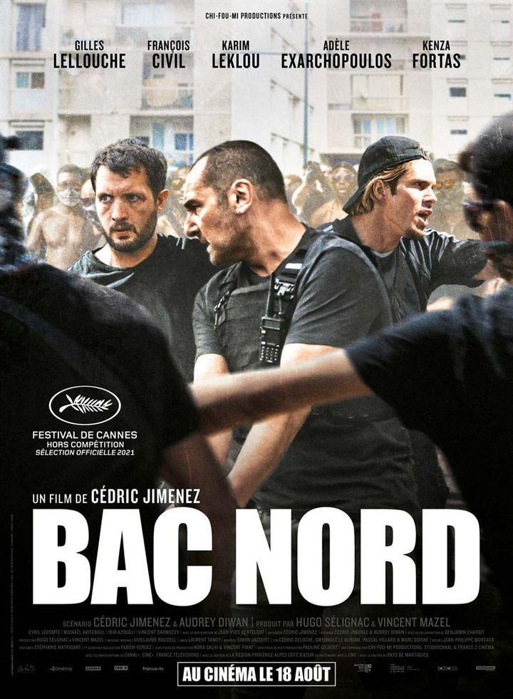 """L'affiche de """"Bac Nord"""" de Cédric Jimenez (2020). (STUDIOCANAL)"""