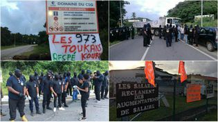 Les mouvements sociaux se poursuivent en Guyane. (GUYANE 1ERE)