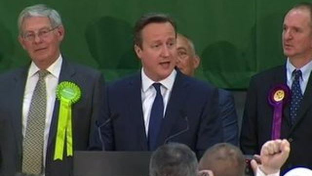Grande-Bretagne : victoire écrasante des conservateurs