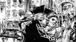 Détail du livre 'Venise. Sur les pas de Casanova'.  (Glénat)