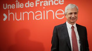 Claude Bartolone, tête de liste du PS en Ile-de-France, le 10 novembre 2015. (MAXPPP)