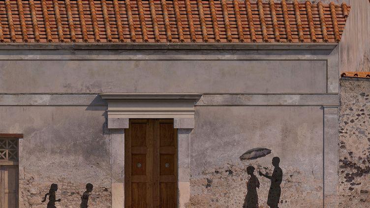 Reconstitution d'une rue de Pompéi (© GEDEON Programmes)