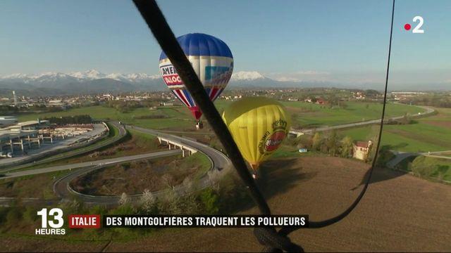 Italie : des montgolfières traquent les pollueurs
