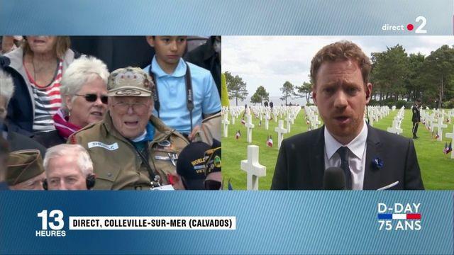 Débarquement en Normandie : une cérémonie émouvante en présence de 160 vétérans