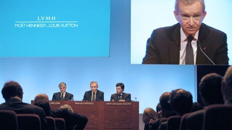 Bernard Arnault (février 2011) (AFP/ERIC PIERMONT)