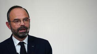 Le Premier ministre Edouard Philippe, le 19 décembre 2019 à l'hôtel Matignon, à Paris. (MARTIN BUREAU / AFP)