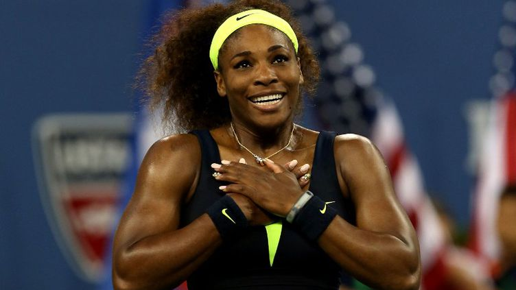 Serena Williams après son triomphe à l'US Open 2012 (MATTHEW STOCKMAN / GETTY IMAGES NORTH AMERICA)