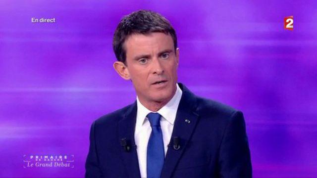"""Valls : """"Je suis le candidat de la feuille de paie"""""""