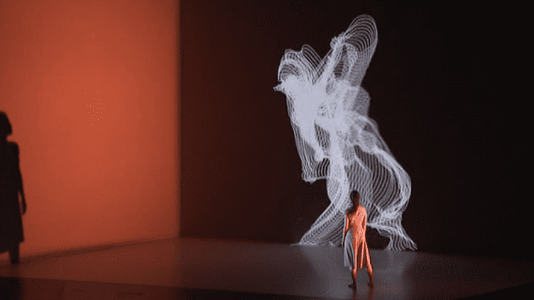 """Spectacle de danse """"Le mouvement de l'air"""" de la compagnie Clair B & Adrien M  (Capture d'image France 3/Culturebox)"""