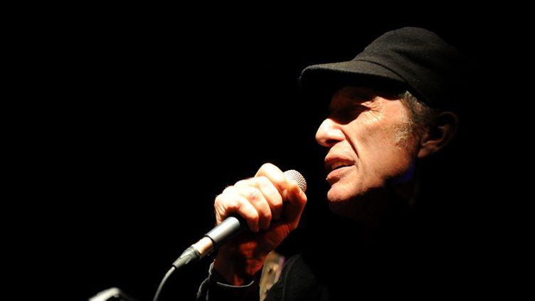 Christophe Miossec en concert à Mâcon, à la Cave à Musique, le 30 janvier 2016  (Jean-Pierre Baffin / PhotoPQR / Le Progrès / MaxPPP)