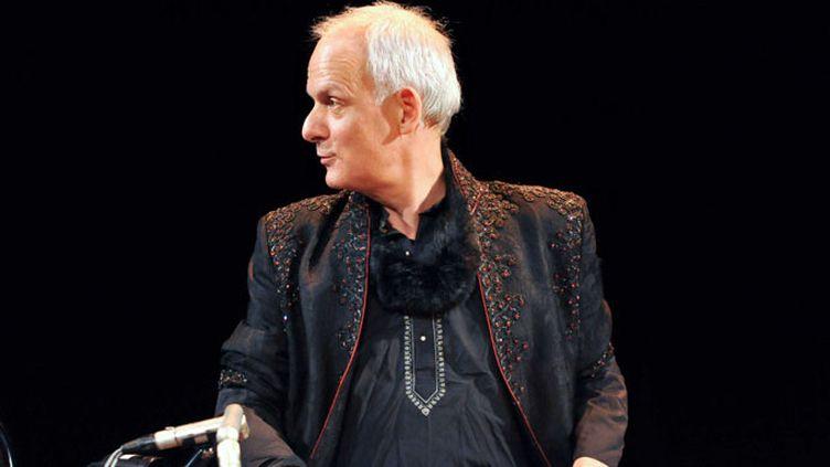 Julien Jâlal Eddine Weiss en concert avec l'ensemble Al Kindi, à la Maison des Cultures du Monde, à Paris, en janvier 2011  (URMAN LIONEL/SIPA )