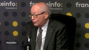 Serge Klarsfeld,président-fondateur de l'Association des fils et filles des déportés juifs de France. (FRANCEINFO / RADIOFRANCE)