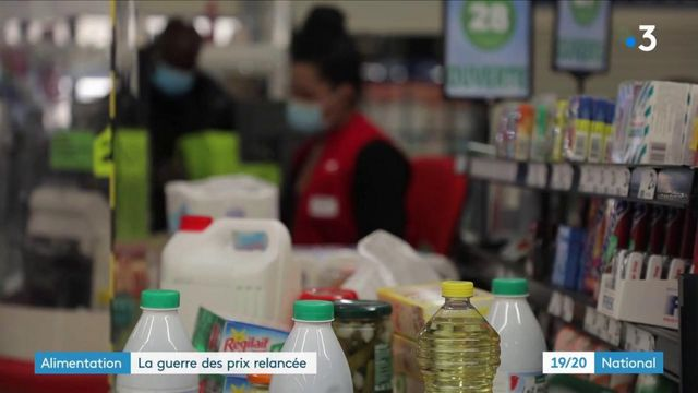 Alimentation : la guerre des prix entre grande distribution et producteurs