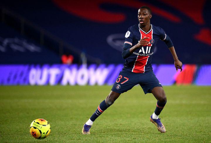 Après un prêt à Brest, Bandiougou Fadiga retourne au PSG. (FRANCK FIFE / AFP)