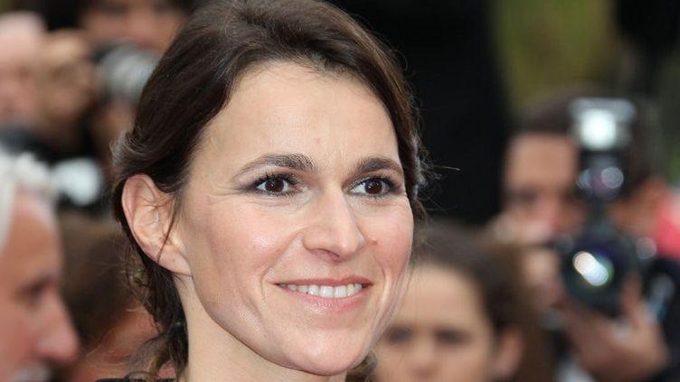 La ministre de la Culture Aurélie Filippetti à Cannes (21 mai 2012)  (Valery Hache / AFP)