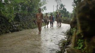 Inde : plongée au cœur du village chantant. (Capture d'écran/France 2)