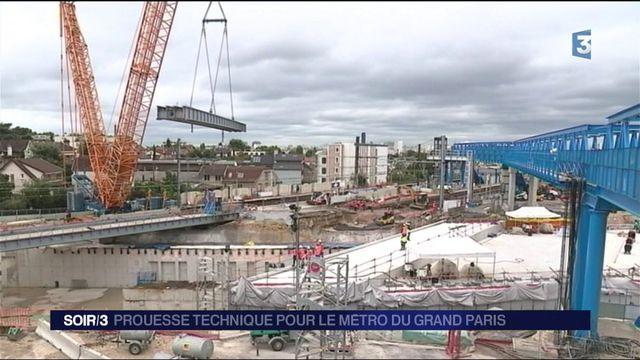 Grand Paris : une prouesse technique réalisée à Clamart