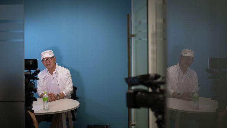 Park Chae-seo à Séoul (Corée du Sud), le 29 août 2018. (STR / AFP)